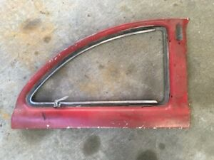 1949 1950 1951 Ford Club Coupe Flip Out Quarter Windows Garnish Moldings
