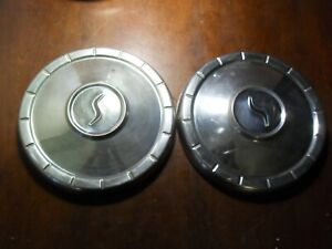 Two 1960 s Studebaker Hubcaps Wheelcovers Dogdish