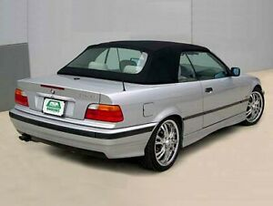 1994 1999 Bmw E36 Black Cloth Convertible Top With Plastic Window