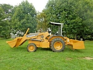 2006 John Deere 210le Box Blade 4x4 Loader Bucket Heavy Duty Tractor