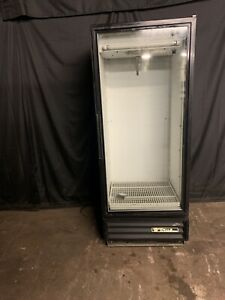 True Gdm 12 Used Single Door Glass Refrigerator Cooler Merchandiser