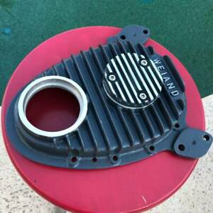 Weiand Cast Aluminum Finned Small Block Chevy Timing Cover