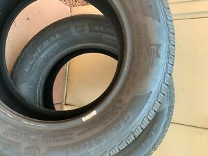 2 New Tires 225 60 16 General Tires Altima Max Rt