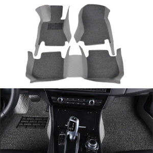 4seasons Car Floor Mats Waterproof Carpet 5 seat For Ford F 150 2011 14 4 door