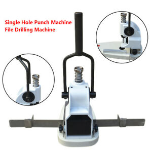 3mm Manual Single Hole Punching Machine Album Paper Tags Hole Puncher Paper Dril