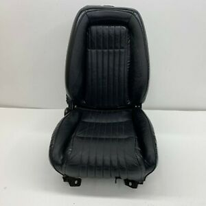 1992 1993 Oem Ford Mustang Passenger Front Black Leather 92 93 s7395