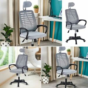 Office Chair Adjustable Home Desk Chair Computer Chair Rolling Swivel Chair blue