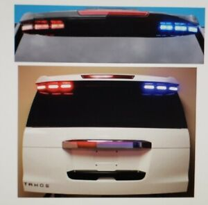 code 3 Citadel th15 Rear Suv Led System 2015 20 Tahoe Suburban Red amber