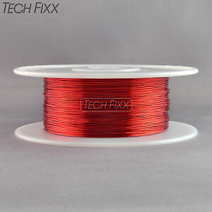 Magnet Wire 26 Gauge Awg Enameled Copper 2520 Feet Tesla Coil Winding Red