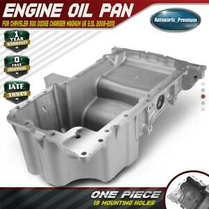 Engine Oil Pan For Chrysler 300 Dodge Charger Magnum V6 3 5l 2008 2009 2010 Awd