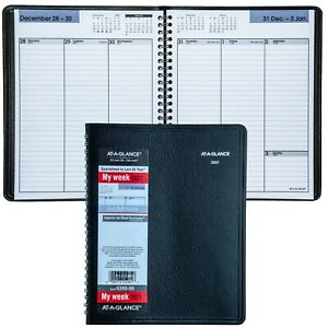 2021 At a glance Dayminder G590 00 Weekly Planner With No Appointment Times
