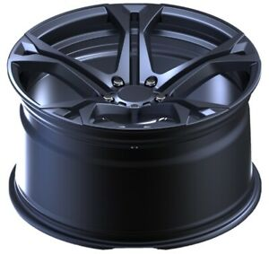 Camaro 1le Reproduction Mrr Black Gloss Wheel One 20x10 Flowforged