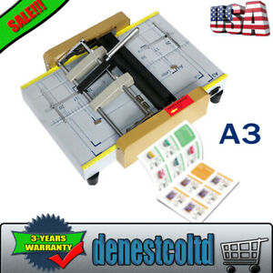 A3 Paper Bookbinding And Folding Machine Booklet Making Machine Booklet Stapling