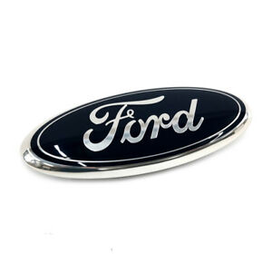 Ford F250 F350 E150 E250 Super Duty Front Grille Blue 9 Inch Oval New Emblem Oem