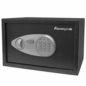 Sentrysafe X055 Security Safe With Digital Keypad 0 5 Cubic Feet medium Black