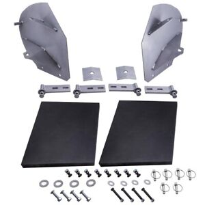 New Heavy Duty Snow Plow Pro Wing Blade Extensions For Fisher Snowplow Blade