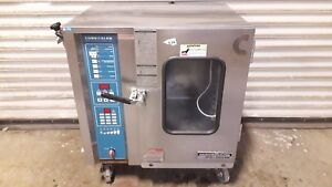 Convotherm Alto Shaam Hud 6 05 Electric Convection Steamer Combi Oven_powers Up