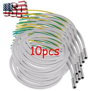 10 4 Hole Silicone Tubing hose tube Connector For Dental High Speed Handpiece