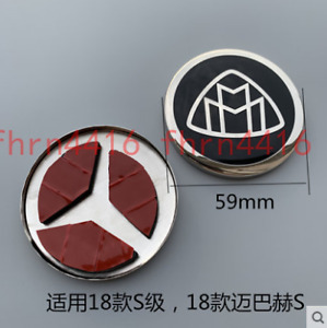 Steering Wheel Emblem Badge 59mm Applies To Mercedes Benz Maybach S400 S500 S600