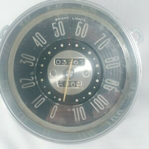 Vintage Ac Gmc Speedometer 110 Mph Rat Rod Sold As Is
