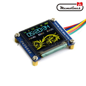 1 5 Inch Rgb Oled Display 128 128 Expansion Module Ssd1351 Spi For Raspberry Pi
