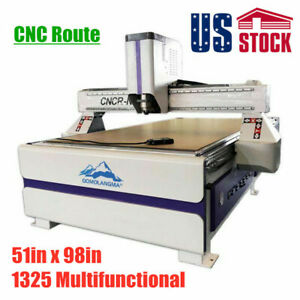 51 X 98 Ad Woodworking Cnc Router Machine With Vaccum System Usa