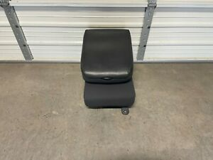 2009 2018 Dodge Ram Center Jump Seat Console Dark Gray Cloth
