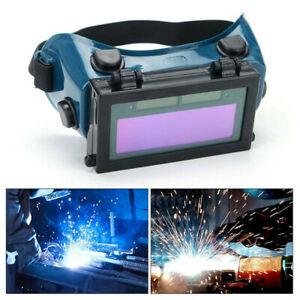 Solar Power Auto Darkening Welding Helmet Eyes Goggle Welder Glasses Protector