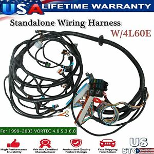 Ls Standalone Wiring Harness For1997 2006 Drive By Cable Dbc Ls1 Engines W 4l60e