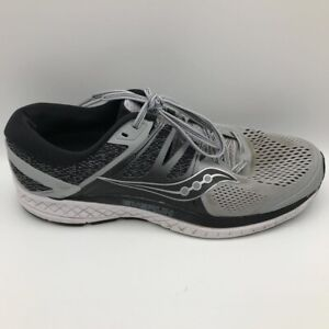 Saucony Mens Everun Omni Iso Running Shoes Gray S20442 2 Lace Up Low Top 11 M