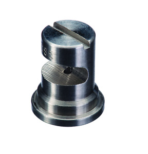 Teejet Floodjet Stainless Steel Wide Angle Flat Spray Tip 0 3 Gpm 40 Psi