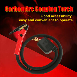600a Arcair Carbon Arc Gouging Torch With Cables Used To Remove Weld Root