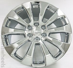 New Chevy Silverado Suburban Tahoe High Country 22replica Chrome Wheels 5922