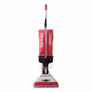 Sanitaire Upright Vacuum W dust Cup 7 Amp 12 Path Rd stl Sc887e