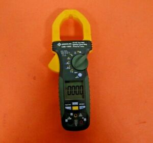 Greenlee Cmi 1000 Ac Dc True Rms Industrial Clamp Meter Free Shipping