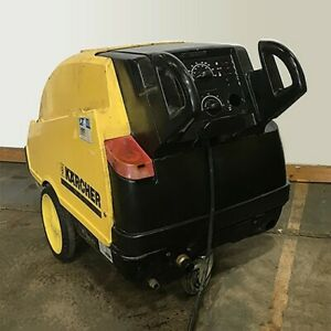 Used Karcher Hds 895s Electric diesel 4 3gpm 2450psi Hot Water Pressure Washer