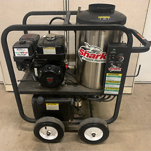 Used Shark Sfp303037 Gas diesel 3gpm 3000psi Hot Water Pressure Washer