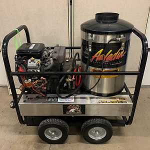 Used Aaladin 41 530b Gas diesel 5gpm 3000psi Hot Water Pressure Washer