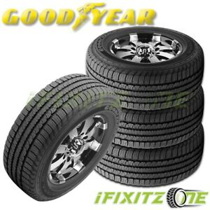 4 Goodyear Fortera Hl P245 65r17 105t All Season Cuv Suv Tires 60k Mile Warranty