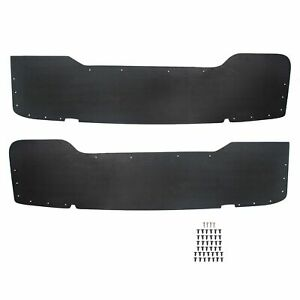 Left Right Pair Rear Dually Bed Inner Fender Liner Fits 99 10 Ford F350 F450