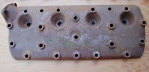 Vintage Original Flathead Ford Cylinder Head Cast Iron Believed To Be 1936