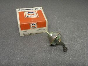 New Nos Oem Gm Delco Choke Pull Off 17064234 Rochester 2 Barrel Varajet Carb