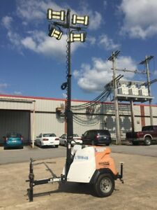 2017 Generac Mlt6smd std Light Tower Generator 6kw Ccr14179