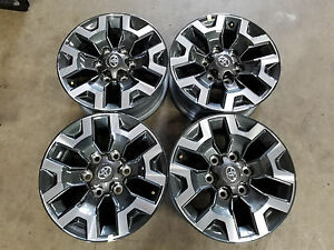 16 Toyota Tacoma 2016 2019 Oe Wheels Set Of 4 Oem Factory Alloy Rims 16x7