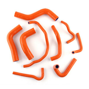 Orange For Miata Mx 5 Roadstar Na6ce B6ze 1600 1989 1993 Silicone Radiator Hose