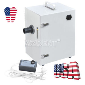 Dental Lab Single row Dust Collector Vacuum Cleaner 370w 70m h Jt 26 New