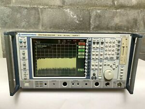 Rohde Schwarz Fsem30 High Performance Spectrum Analyzer 20hz 26 5ghz W options