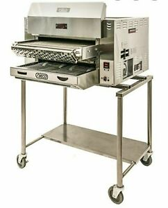 New Nieco Jf143 2g Automatic Gas Broiler Charbroiler Oven