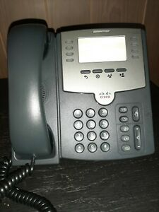 Cisco Spa501g Ip Phone With Stand And Handset