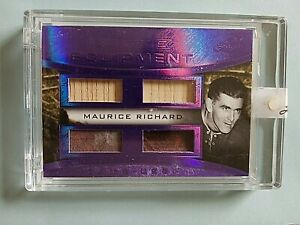 2015 Maurice The Rocket Richard Game Used Equipment Sticks and Gloves 1 4 $99.99